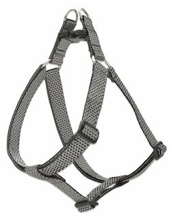 """NEW Granite Grey Dog Collar, Harness or Leash in 1"""" by Lup"""