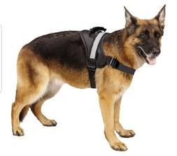 New EXPAWLORER Harness Big Dog Soft Reflective No Pull Black