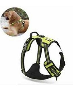 NEW RABBITGOO No Pull Adjustable Dog Harness 3M Reflective -