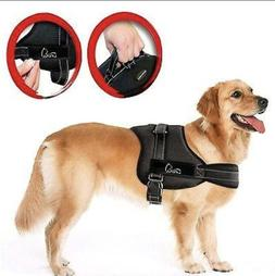 NEW Lifepul No Pull Dog Vest Harness Size XL BLACK  No More