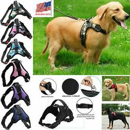 New Pet Dog Vest Harness Leash Collar No Pull Adjustable Sma