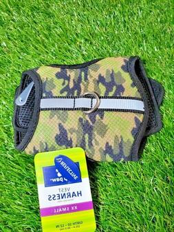 **NEW**  Top Paw Reflective Army Greens Camo padded dog harn
