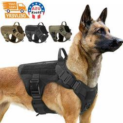NEW Tactical Dog Vest Harness – Military K9 Dog Training V