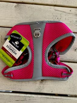 Nice! Top Paw Pink Reflective Dog Harness XS