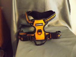 NIP Orange RABBITGOO Reflective No Pull Dog Harness LARGE