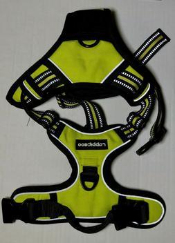 RABBITGOO No Pull Adjustable Dog Harness 3M Reflective - Yel
