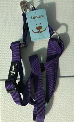 Pupteck No Pull Adjustable Dog Nylon Strap Harness Purple Si