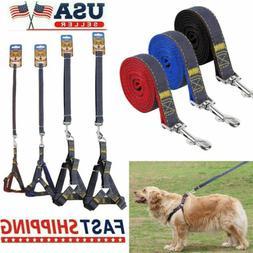 No Pull Adjustable Dog Pet Vest Harness Quality Nylon Small/