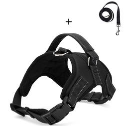 No Pull Adjustable Dog Pet Vest Harness and leash Small/Medi