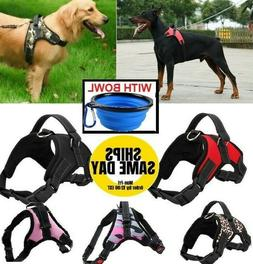 No Pull Adjustable Dog Pet Vest Harness Quality Nylon Small