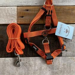 Pupteck No Pull Adjustable-Step In Puppy/Dog Harness & Leash
