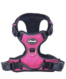 EXPAWLORER No-Pull Dog Harness. 3M Reflective Outdoor Advent