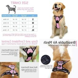 Rabbitgoo No Pull Dog Harness Adjustable Pet Harness Outdoor