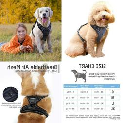 Rabbitgoo No Pull Dog Harness Front Clip Pet Vest Harness Wi
