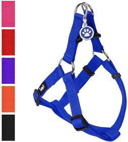 PUPTECK No Pull Dog Harness Reflective Adjustable Basic Nylo