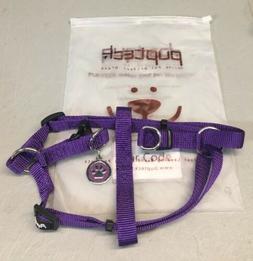 PUPTECK No Pull Dog Harness Reflective Adjustable  Nylon Sma