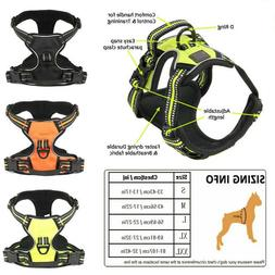 No-Pull Dog Pet Harness 3M Reflective Outdoor Adventure Pet