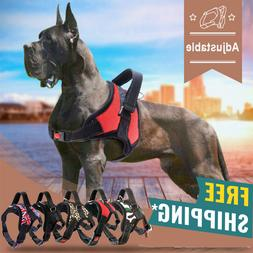 No-Pull Dog Pet Harness Adjustable Control Vest Dogs Reflect