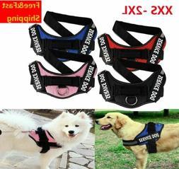 No Pull Dog Pet Vest Harness Strap Adjustable Nylon XXS XS S