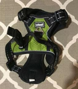 Bingpet No Pull XS Dog Harness, Green