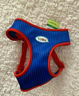 NWT TOP PAW BLUE RED SOFT COMFORT VEST DOG HARNESS LARGE X-S