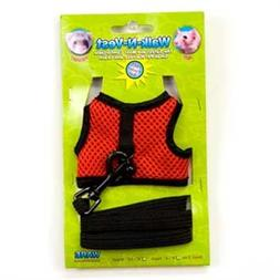 Ware Manufacturing Nylon Walk-N-Vest Pet Harness and Leash f