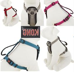 KONG Padded Chest Plate Dog Harness BRAND NEW Assorted Color