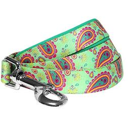 Blueberry Pet 5 Colors Paisley Flower Print Dog Leash with S