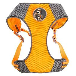 Top Paw® Comfort Reflective Dog Harness Orange X-Small