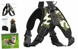PAWABOO Dog Vest Halter Harness, Adjustable Duarable Deep Ca