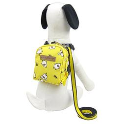 Alfie Pet by Petoga Couture - Vega Backpack Harness with Lea