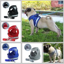 Pet Control Harness for Dog & Cat Soft Mesh Walk Collar Safe