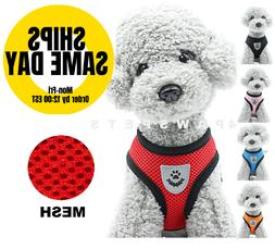 Mesh Padded Soft Puppy Pet Dog Harness Breathable Comfortabl