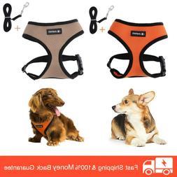 Pet Control Small Medium Dog Harness Soft Mesh Walking Vest