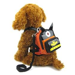 Alfie Pet by Petoga Couture - Oliga Backpack Harness with Le