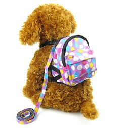 Alfie Pet by Petoga Couture - Halle Backpack Harness with Le