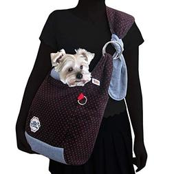 Alfie Pet by Petoga Couture - Raven Pet Sling Carrier - Colo