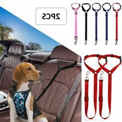 Pet Dog Cat Car Seat Belt Strap Buckle Safety for Harnesses