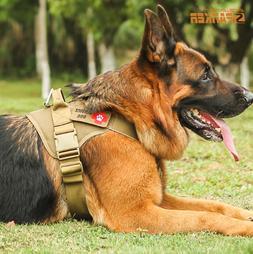 Pet Dog Harness Adjustable Large Small Service Dog Soft Vest