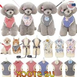Pet Dog Harnesses Vest No Pull Adjustable Chihuahua Puppy Ca