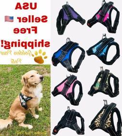 Pet Dog Puppy Cat Harness Vest Collar No Pull Adjustable Sma