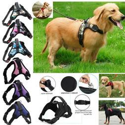 Pet Dog Vest Harness Leash Collar Set No Pull Adjustable Sma