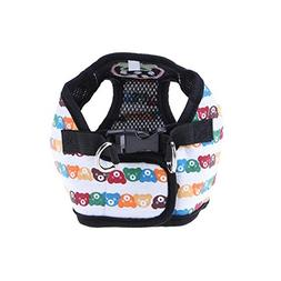 365Cor - Pet Dog Vest Harnesses Cute Strawberry Bear Small D