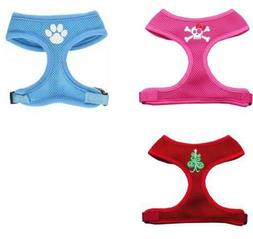 Mirage Pet Product Skull Bow Paw Christmas Dog Harness Size