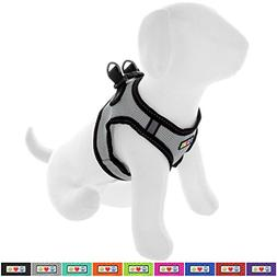 Pawtitas Pet Reflective Mesh Dog Harness, Step in or Vest Ha
