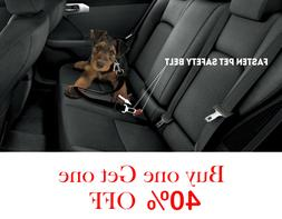 pet seat belt dog safety adjustable clip