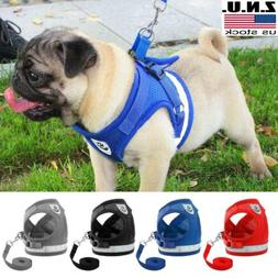 Pets Dog Harness For Chihuahua Pug Dogs Nylon Mesh Puppy Cat