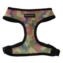 Pink Camouflage Harness Size: Small