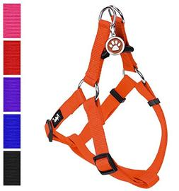 PUPTECK No Pull Dog Harness Adjustable Basic Nylon Step in P