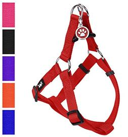 PUPTECK No Pull Dog Harness Adjustable Basic Step in Puppy V